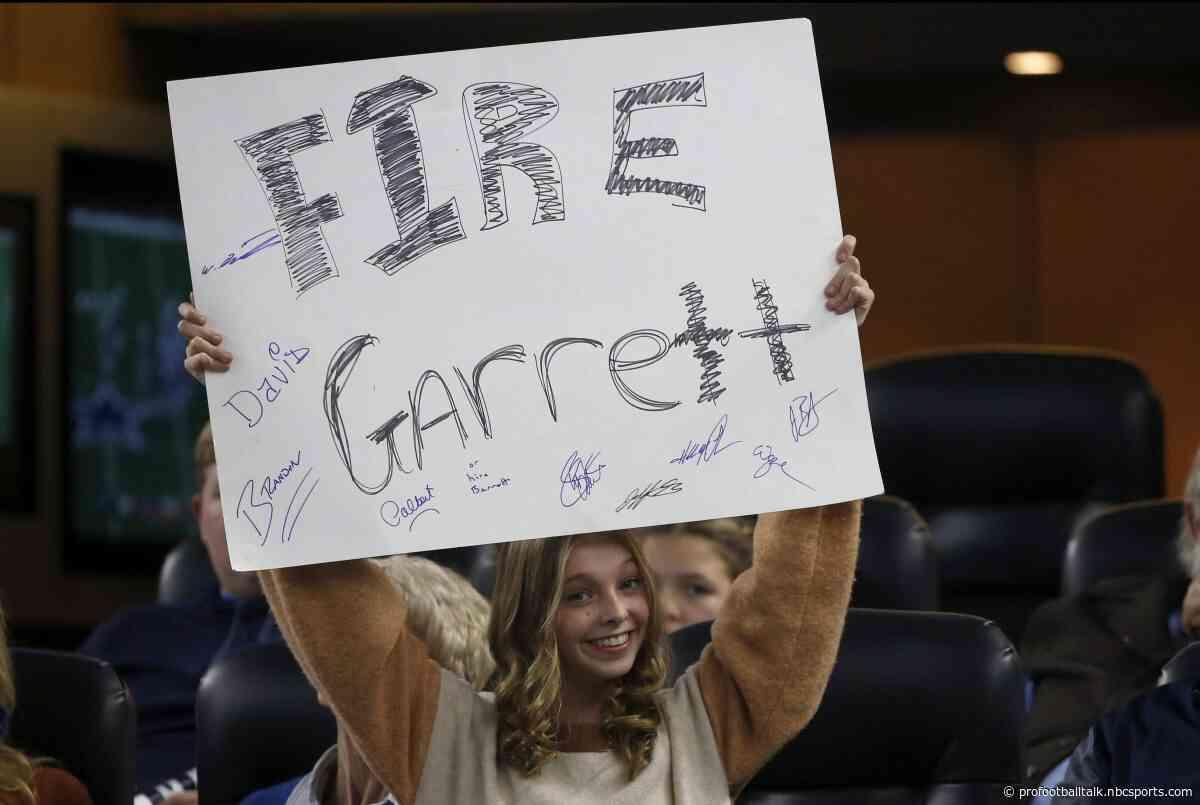 """Jerry Jones: Firing Jason Garrett would give Cowboys """"zero chance"""" for Super Bowl"""