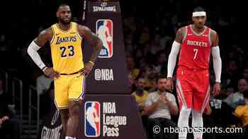 Report: LeBron James blessed Lakers signing Carmelo Anthony last summer, but front office didn't
