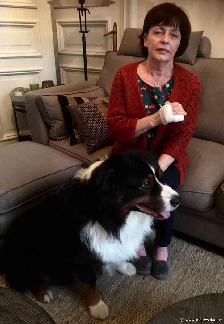 """Corinne (62) moet pink laten amputeren na aanval hond: """"In een fractie van een seconde was het gebeurd, ik heb het nooit zien aankomen"""""""