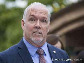 Horgan says ride-hailing will arrive in B.C., downplays Christmas deadline