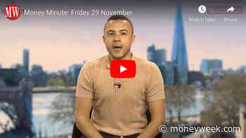 Money Minute Friday 29 November: UK house prices, newspaper results and eurozone inflation