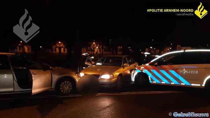 Wilde politieachtervolging door Arnhem en Velp