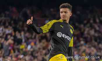 Dortmund 'will listen to offers for Man Utd and Liverpool target Jadon Sancho in January'