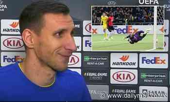 I'll tell my grandchildren I scored against Man United, says Astana defender Dmitri Shomko