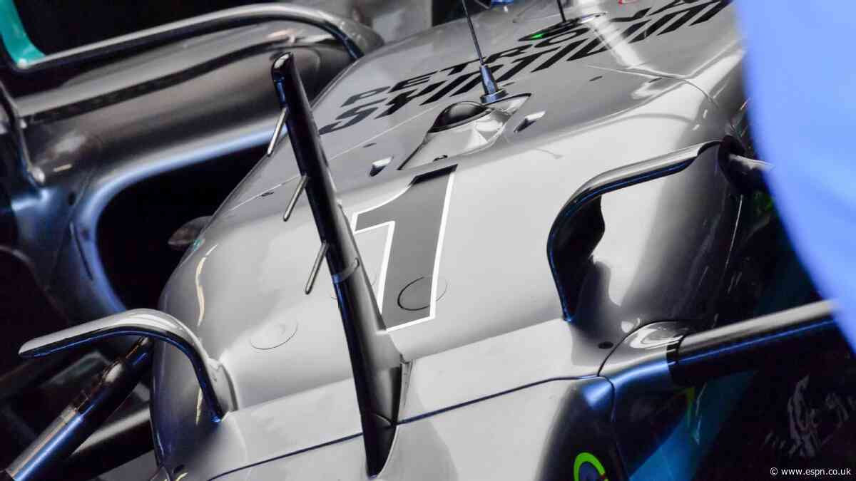 Diary: Lewis briefly runs No.1 on his car