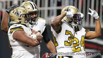 Saints clinch NFC South, 11 playoff spots to go