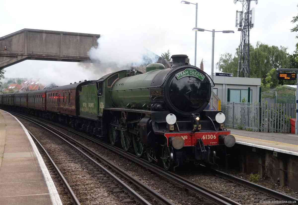 Where you can see steam engine in Kent