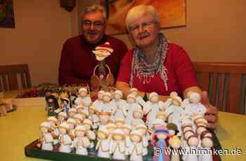 Hobbykunst auf dem Weihnachtsmarkt