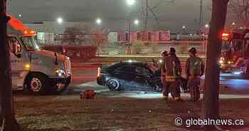One man dead after collision in Mississauga: Peel police