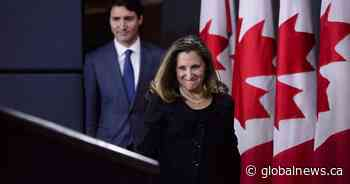 Trudeau, Freeland to meet with top Mexican diplomat on CUSMA efforts