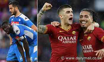 SERIE A WEEKEND PREVIEW: Napoli have perfect opportunity to end seven-match winless run