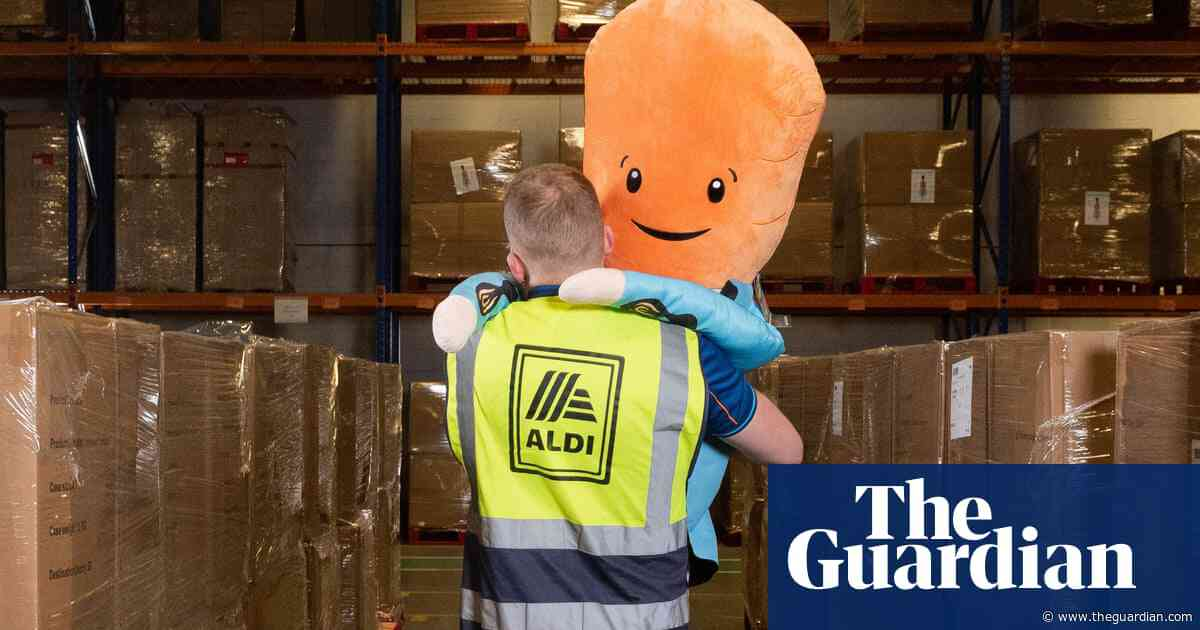 Carrot mania: shoppers in a frenzy over Aldi's plush toy Kevin