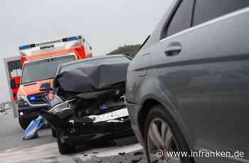 B173 im Landkreis Lichtenfels: Unfall mit vier Fahrzeugen und 25.000 Euro Schaden