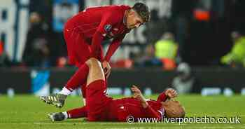 Liverpool suffer major Fabinho injury blow as worst fears confirmed for midfielder