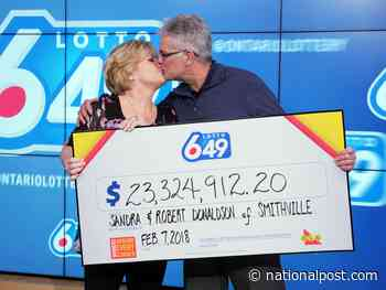 What if feels like … to win $23M: 'He just sat there shaking his head and crying'