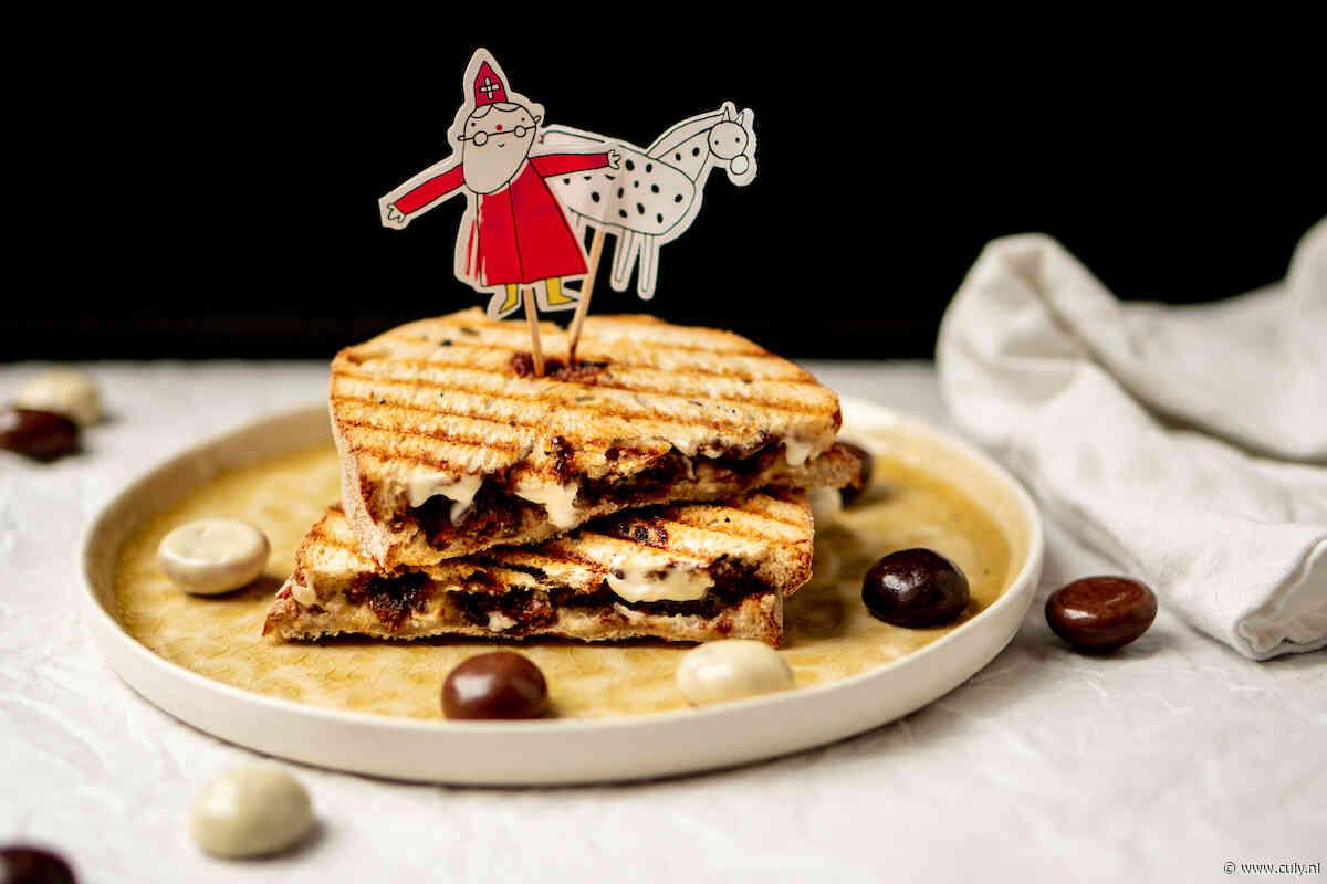 Culy Homemade: Sinterklaastosti met chocolade kruidnoten, banaan & ricotta