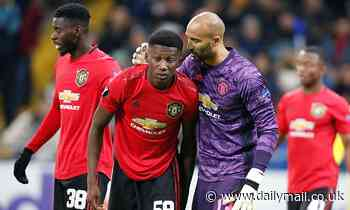 Lee Grant backs Man United youngsters to bounce back after Europa League loss to Astana