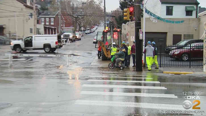 PWSA Lifts Flush and Boil Water Advisory After Water Main Break In Lawrenceville