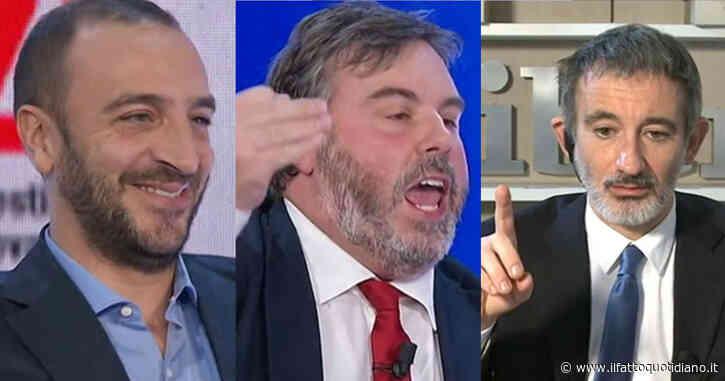 """La7, Nobili furente: """"Chi risarcisce Renzi? Italia Viva è l'esperienza più trasparente della storia d'Italia"""". E Senaldi sbotta: """"Basta, mi lasci parlare"""""""