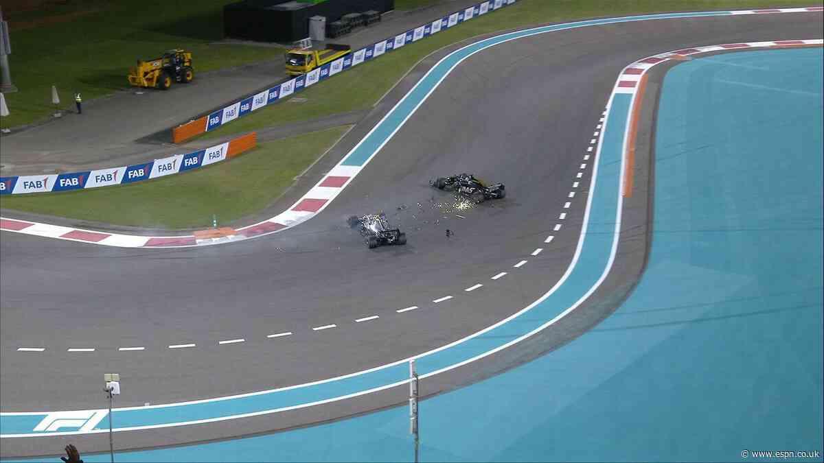 Bottas given reprimand for Grosjean collision