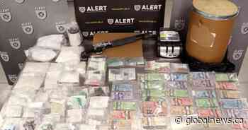 $300,000 in meth, fentanyl and cocaine seized in Calgary drug bust: ALERT