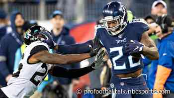 Derrick Henry on track to play Sunday