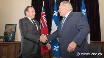 François Legault to talk Bill 21 with Doug Ford over dinner in Montreal