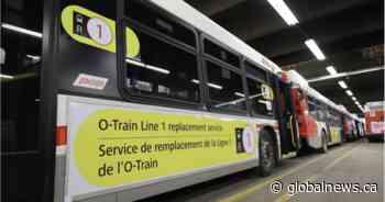 Backup bus fleet for Ottawa LRT disruptions will hit the road Monday