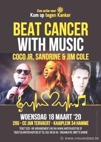 Concert met Coco Junior, Sandrine en Jim Cole