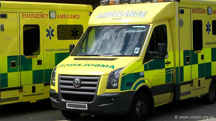 Ambulance delays down to nine-year NHS funding squeeze