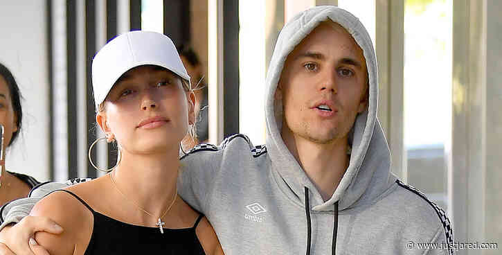 Justin & Hailey Bieber Hold Each Close During Day Out in Miami!