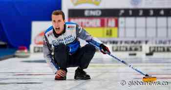Edmonton's Brendan Bottcher beats Brad Jacobs 5-4 in extra end at Canada Cup