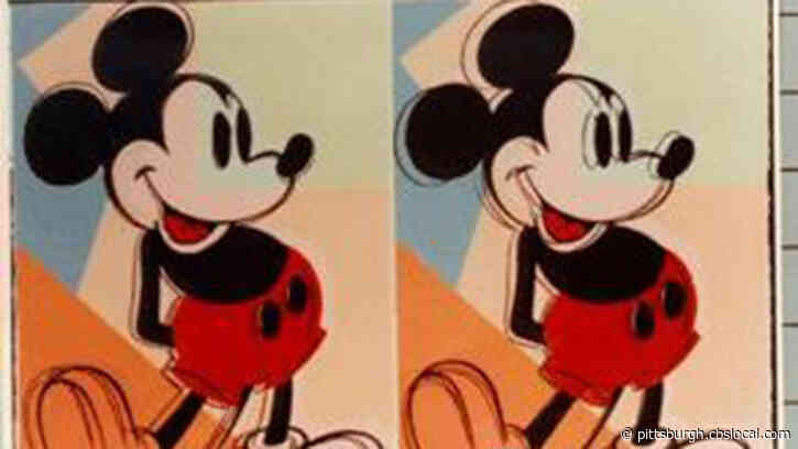 FBI Looking For Missing Mickey Mouse Artwork By Andy Warhol
