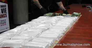 30 kilos of pure, uncut cocaine seized in Surrey, six men arrested