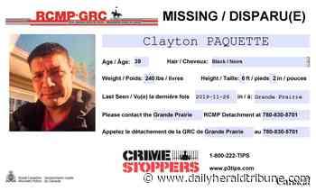 Grande Prairie RCMP seeking missing man