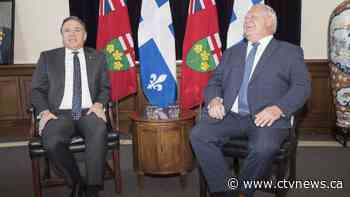 Ford, Legault say Montreal meeting focused on immigration, health, economy