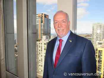 Vaughn Palmer: Horgan's on a high, but real challenges lie ahead for his government