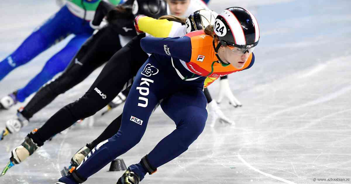 Drie Nederlandse shorttracksters in halve finale 1000 meter