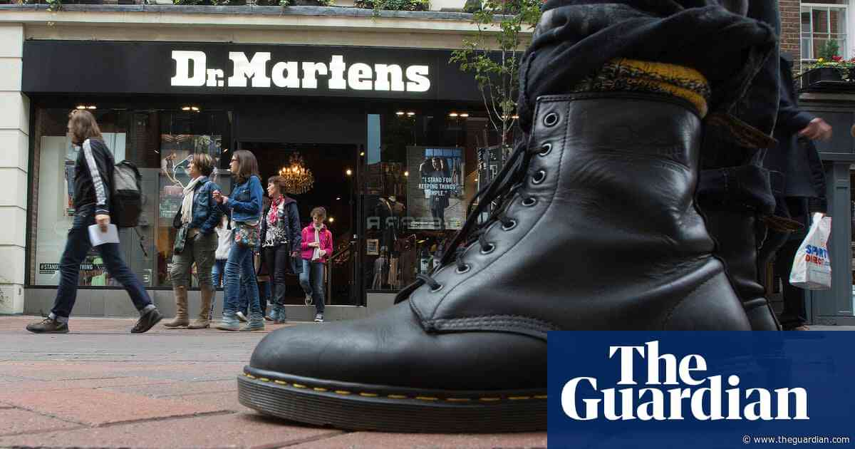Dr Martens: are things going wrong with the UK's beloved brand?