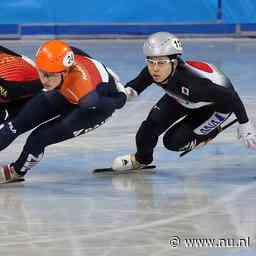Schulting pakt zilver op 1.000 meter bij World Cup in Japan