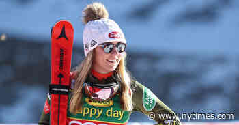 On the Road with Mikaela Shiffrin, the Olympic Gold Medalist