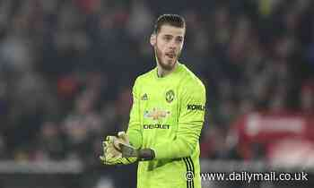 David de Gea admits 'lack of quality' at Manchester United