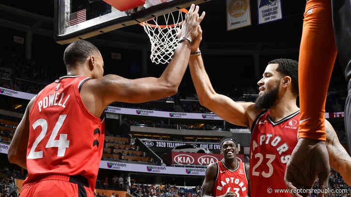Powell powers Raptors past Magic in ugly win