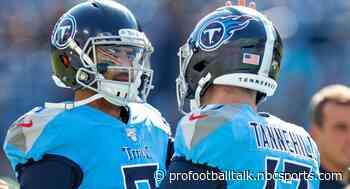 Benching Marcus Mariota for Ryan Tannehill was key to Titans' turnaround