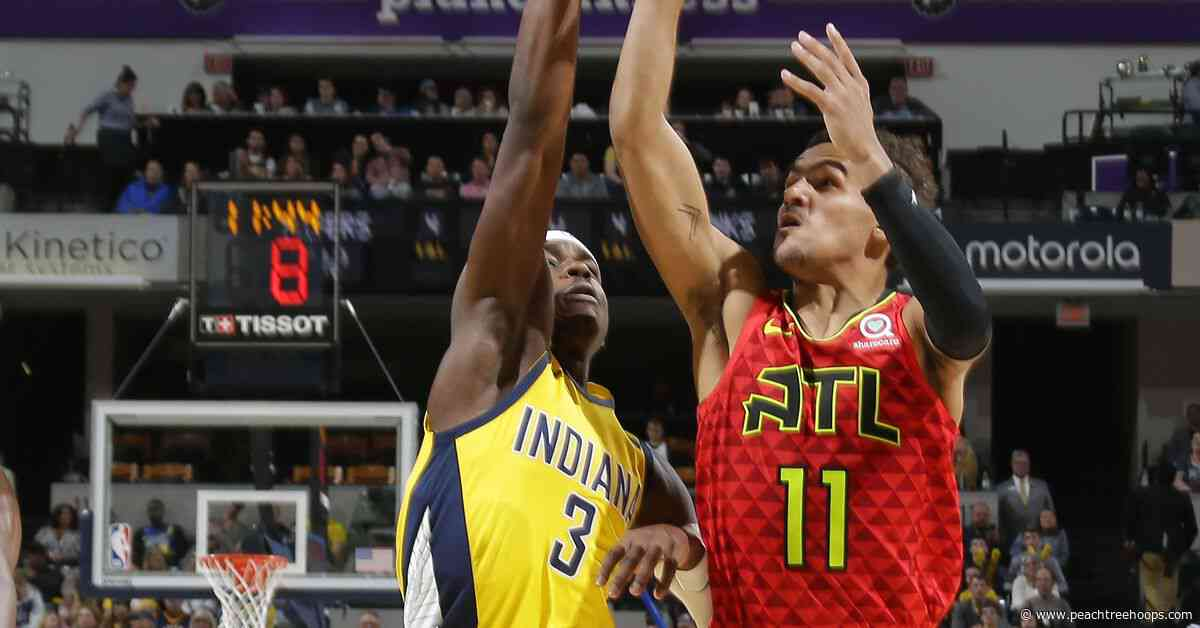 Trae Young shines, Hawks come up short in Indiana