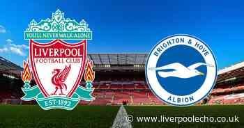 Liverpool vs Brighton LIVE - score, commentary stream, line ups and goals