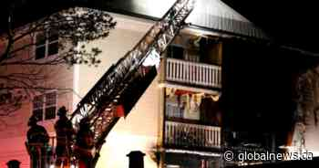 14 tenants displaced following apartment fire in Moncton