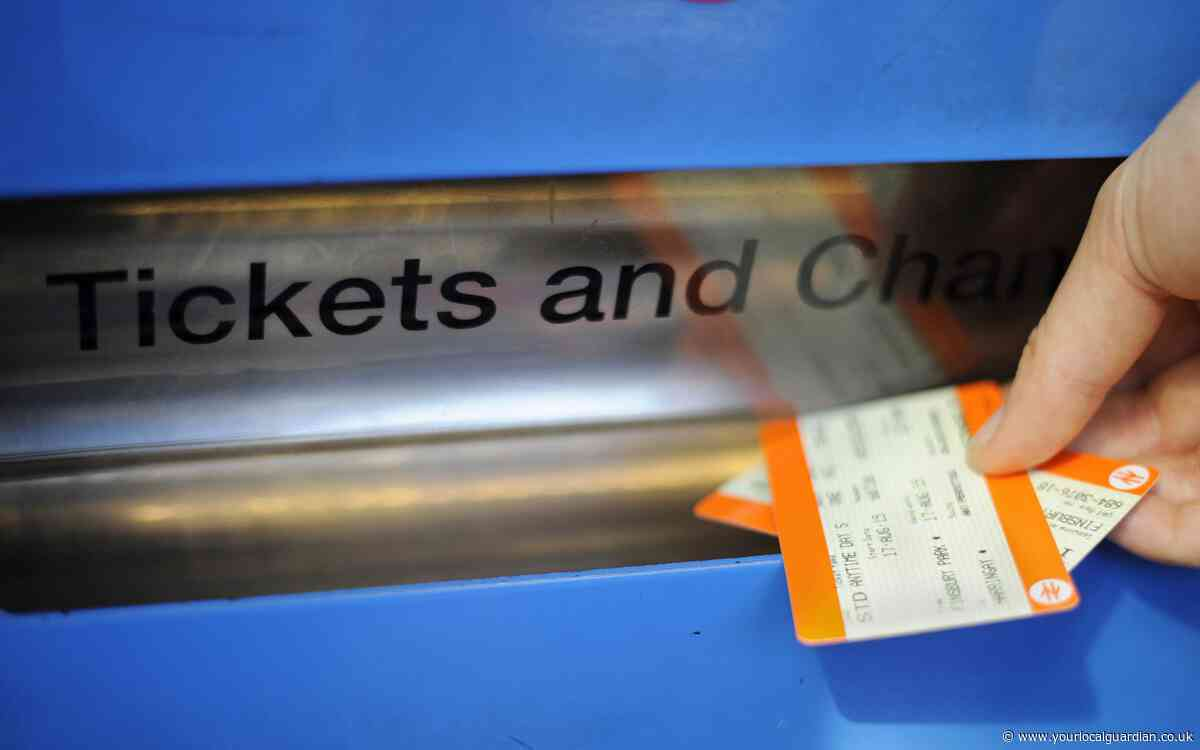Rail fares to be hiked up by 2.7 per cent in the New Year
