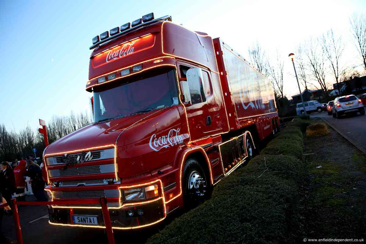 Coca Cola Christmas truck should be banned, waste company says