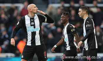 'I might be a hero in Liverpool now':Shelvey stunner boosts former side's title hopes